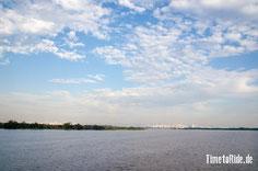 Brasilien - Südamerika - Reise - Motorrad - Honda Transalp - Blick auf Porto Alegre