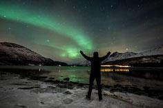 Winterreise zu den Lofoten und den Polarlichtern