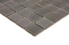 Mosaico MIX GREY Vetro Trasparente semilucido