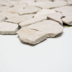 mosaico palladiana marmo Biancone
