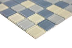 Mosaico MIX GHIACCIO Vetro Trasparente lucido