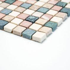 mosaico marmo multicolor