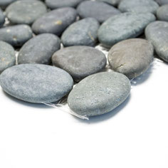 Mosaico Riverstones neri