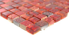Mosaico 15mm Junior ROSSO LIGHT