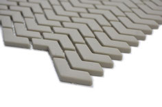 mosaico design vetro tessera 10/45mm taupe