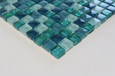 mosaico vetro Glitter Verde
