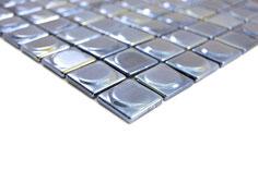 Mosaico ECO MOS 25/25 mm NERO ROTONDO 3D