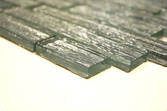 Mosaico Riflessi Brick Argento in vendita online da Mosaix