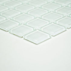 Mosaico CRYSTAL BIANCO Vetro lucido