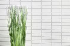 mosaico in ceramica vetro colore bianco forma rettangolo opaco
