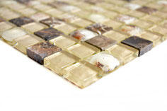 mosaico per la casa al mare vetro marmo