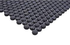 Mosaico Kuba BOTTONI 12mm BLACK