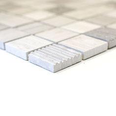 mosaico marmo Grigio rigato