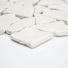 mosaico palladiana marmo botticino