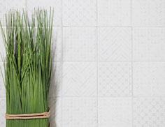 mosaico ceramica colore bianco lucido 10x10 cm