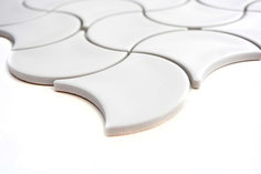 mosaico decorativo in ceramica a forma originale