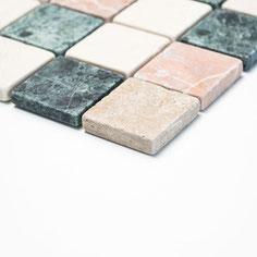 mosaico marmo Random anticato
