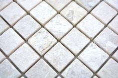 mosaico marmo Beige Cristallino
