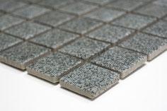 mosaico ceramica antiscivolo per piscina, bagno colore grigio
