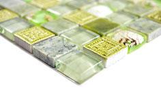 mosaico per la casa al mare verde