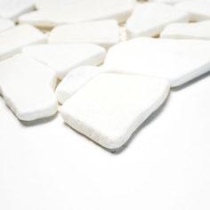 mosaico palladiana marmo bianco