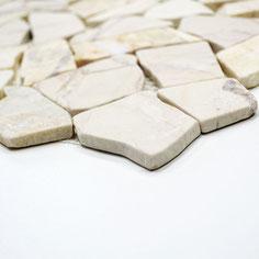 mosaico palladiana marmo golden cream lucido