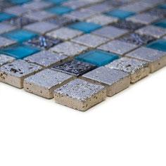 Mosaico 23mm Junior TURCHESE