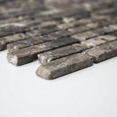 mosaico muretto marmo Emperador