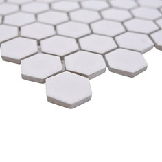Mosaico Esagoni BIANCO ANTISCIVOLO MAT