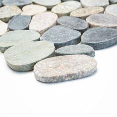 mosaico sasso piatto multicolor