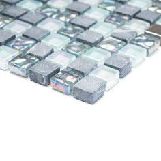 mosaico marmo vetro cristallo