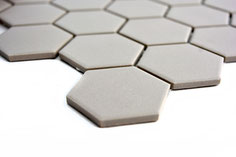 Mosaico Esagoni 51/59 GRIGIO ANTISCIVOLO opaco