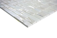 Mosaico ECO BRICK BIANCO 3D