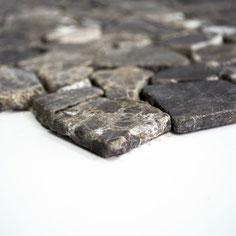 Mosaico palladiana marmo Castagno