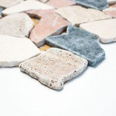 mosaico palladiana marmo mix random