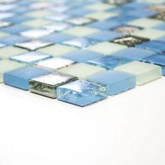 mosaico per la casa al mare azzurro