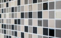 mosaico in ceramica e vetro non smaltato opaco colore mix beige. 6,40 Euro al foglio