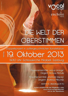 Konzertplakat - Design: Ch. Ebert