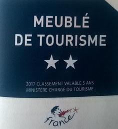 Meublé de tourisme **