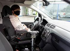 Heckeinstieg für Selbstfahrer Sodermanns