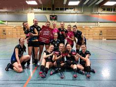 Strahlende DSCity Girls nach Sieg über den Tabellenzweiten letzten Samstag
