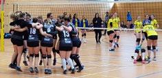 Damen-2 nach Sieg über den designierten Landesligameister