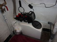 Adoucisseur d'eau domestique compact IdeEau Mignon 4 litres