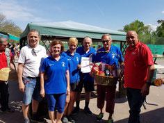 1. Platz: SSV Stockfalken Hohenau