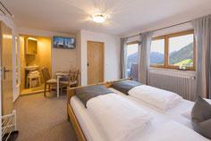 Doppelzimmer für 2 Personen, Südbalkon