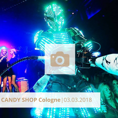 Candy Shop Cologne März 2018 Club
