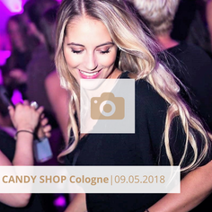 Candy Shop Cologne Mai 2018 Halle tor 2