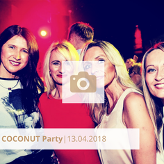 Coconut Party Club Halle tor 2 April 2018