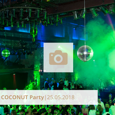 Coconut Party Mai 2018 Halle tor 2