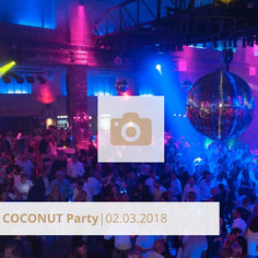 Coconut Party März 2018 Club Halle Tor 2